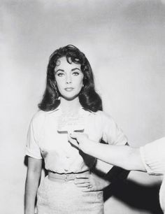 one of elizabeth taylor's costume tests for 'cat on a hot tin roof'