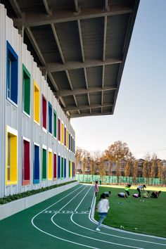 Architecture firm SOM has completed the first public school in New York City that generates as much energy on site as it consumes.