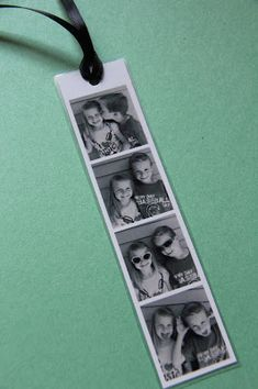 Sometimes Creative: Father's Day Gifts: Photo Booth Bookmark