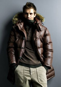 Andrew Cooper. Men's winter style