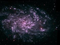The Triangulum Galaxy...three million light years away...