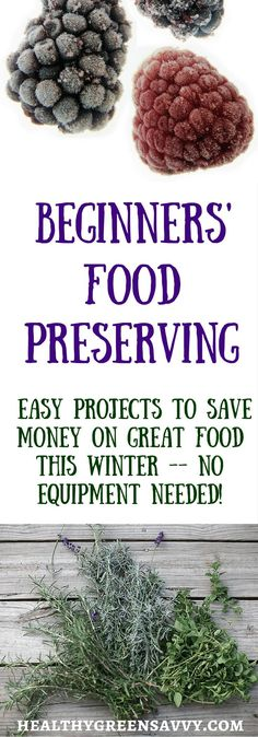 Getting started with food preservation is easier than you think! No special…