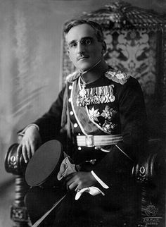 Alexander I (Aleksandar I Karađorđević), also known as Alexander the Unifier (1888–1934) was a prince regent of Kingdom of Serbia & later a King of Yugoslavia from 1921–34. On Tuesday, 9 October 1934, he was arrived in Marseilles to start a state visit to France, to strengthen the two countries' alliance in the Little Entente. While Alexander was being driven in a car through the streets, a gunman stepped from the street & shot the King & the chauffeur with a semiautomatic pistol.