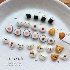 * 久しぶりにおむすび握りました♩ * #ミニチュア#ミニチュアフード#ハンドメイド#手作り#雑貨#スマイル#粘土#フェイクフード#食品サンプル#おにぎり#おむすび #riceball#miniature#miniaturefood#japanesefood#smile#handmade#fake#fakefood#clay#craft #onigiri