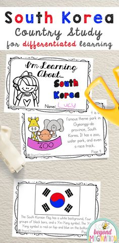 South Korea Fun Fact country study booklet is perfect to use for an around the world unit, an international day, an international festival, a social studies unit, a cultural school project, a geography project, a cultural day, a cultural fair, a field day, or a multicultural day. #South #Korea #SouthKorea #country #booklet #study #tpt #gradeone #gradetwo #gradethree #gradefour #kindergarten