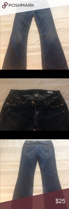 Silver - Jeans - Denim - Size 32 Good Condition- Silver - Jeans - Flare Leg - Size 32 Silver Jeans Jeans Flare & Wide Leg