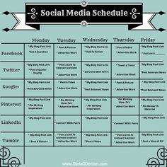 Social Media Calender Template Excel Pinterest Media - Social media schedule template