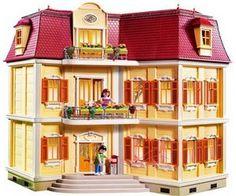 Toys R Us Playmobil Gran Casa De Mu Ecas 5302