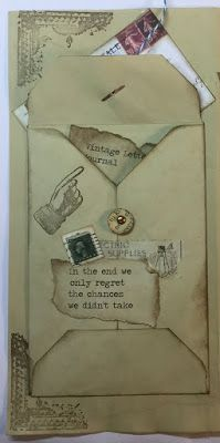 Vintage Letter Journal Part 1... - Helmar Creative Team