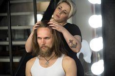 #Backstage Brian Dales Italian Style FW2015-16 #shooting. #hair #makeup #beardman