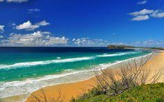 Ausblick von einem Champagne Pool, Fraser Island © Shutterstock.com