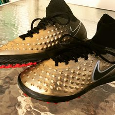 bad11c644 Custom Painted Nike Magistax indoor soccer cleats These can be done easily!