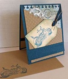 birthday card (stampin' up) | Cards for men and boys | Pinterest