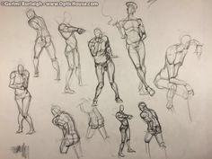 Gerimi Burleigh: Art & Comics - Blog - Sketch of the day: Where do ideas come from#78