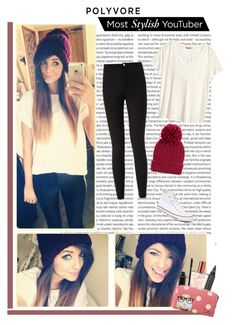 """Polyvore Most Stylish Youtuber : Zoella"" by xgracieeee ❤ liked on Polyvore featuring Oris, H&M, Converse, MAC Cosmetics, Topshop and PolyvoreMostStylish"