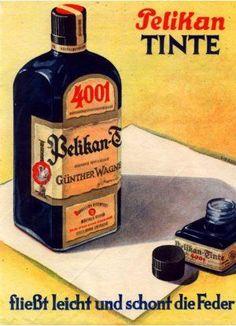 Pelikan German vintage advertising
