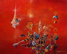 Alain Beaubatier, Aucun sens de l'heure, Peinture