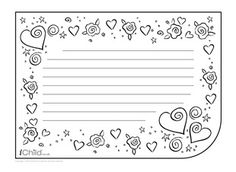 3b30e412341d89530ec2a53245a0ac00--writing-papers-brother-sister Valentine S Letter Writing Template on valentine paper pattern, valentine stationery templates, valentine stationary to print, valentine party letter template,
