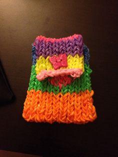Monedero multicolor de gomitas