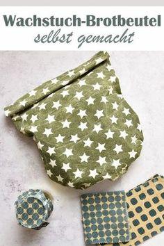 Oilcloths and oilcloth bread bags. Made easy. – Zero Waste & Nachhaltige Geschenke - DIY and crafts Bread Bags, Food Crafts, Diy Food, Jar Crafts, Zero Waste, Diy Crafts For Kids, Kids Diy, Bag Making, Fabric Crafts