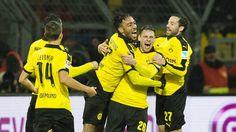 @bdortmund9off Dank Pierre-Emerick Aubameyang: BVB ringt Ingolstadt nieder #9ine