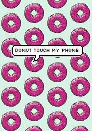 Resultado de imagen para don't touch my phone