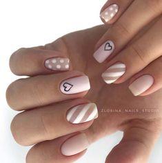 uñas rosa palo con blanco #pink #rosa #pinknails #pinknailart #rosapalo #uñasrosapalo #uñasrosa #uñasdecoradas #nailart #nails