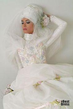 Сшить мусульманское свадебное платье