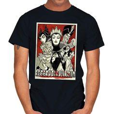 RESERVOIR VILLAIN T-Shirt - Disney Villain T-Shirt is $14 today at Ript! Disney Villains, Summer, Mens Tops, T Shirt, Fashion, T Shirts, Supreme T Shirt, Moda, Summer Time