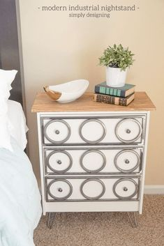 IKEA Nightstands And The Many Great Hacks You Can Do With Them Whenever you're feeling in the mood to make change something about your home's interior design, you can always focus on some simple furniture …  http://www.homedit.com/ikea-nightstands/