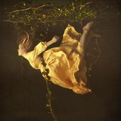 brooke shaden: reminiscent of an ethereal/macabre scene in Night of the Hunter.