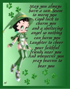 irish blessings   ... Welch so I celibrate the Celtic holiday. Sending you a Welch blessing