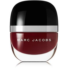Marc Jacobs Beauty Enamored Hi-Shine Nail Lacquer - Jezebel 138 ($18) ❤ liked on Polyvore featuring beauty products, nail care, nail polish, makeup, nails, beauty, burgundy, marc jacobs, glossy nail polish and marc jacobs nail polish