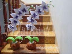 3d origami orchid.jp… | Album | Nga | 3D Origami Art