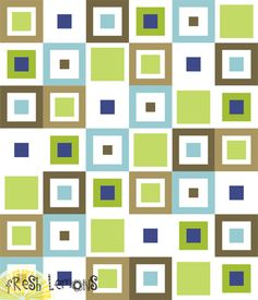 Lemon Squares Quilt Pattern – Fresh Lemons Modern Quilts