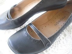 leather mary janes
