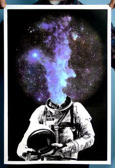 Porque eu sou parte do cosmo. Eu sou poeira das estrelas!