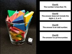 51 Esti-Mysteries - Steve Wyborney's Blog: I'm on a Learning Mission. Teaching Tips, Teaching Math, Maths, Math Fractions, Math Games, Math Activities, Mystery Questions, Math Discourse, Conversation Images