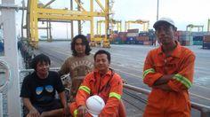 Ngopi bareng C/O,fitter,Indra Deni @Gangway...