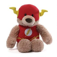 Flash Blaze Plush Bear by Gund | ShopDCEntertainment.com