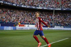 Antoine Griezmann marca con el Atlético de Madrid ante el Getafe