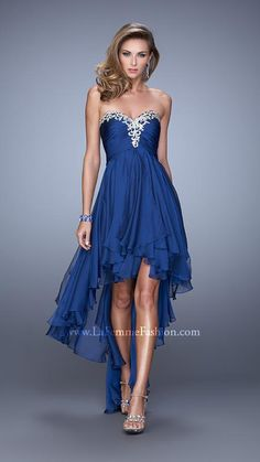 For Small Train Prom Dresses High Low