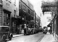 Westgate Street, Bath in 1936