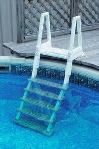 Image detail for -Economical Above Ground Pool Deck Ladder
