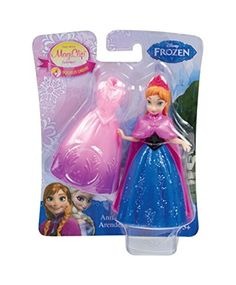 This charming toy features an adorable Anna small doll from the upcoming Disney feature Frozen. Anna and Elsa are sisters living in the enchanted Kingdom of Arendelle. Each has her own unique personal