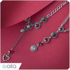 Gita Jewelry School. Creating tie necklace #Gita_Jewelry #tie_necklace #DIY_jewelry #handmade