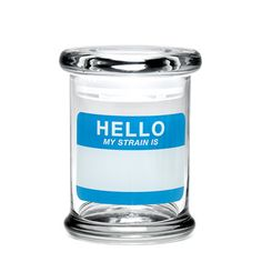Medium Pop-Top Herb Jar Hello, $19.75, now featured on Fab.