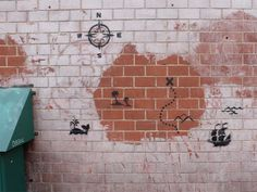 Banksy - Treasure map