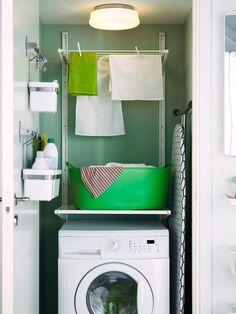 Ideas para un cuarto de lavado pequeño