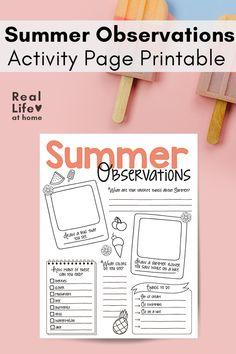 Bubble Activities, Outdoor Activities For Kids, Kindergarten Activities, Preschool Activities, Summer Fun For Kids, Science Worksheets, Nature Study, You Draw, Ways To Relax